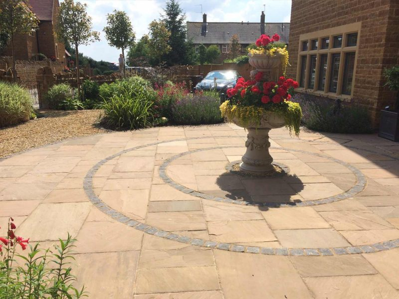 Circular Patio Garden Design Case Study Gardens For Good